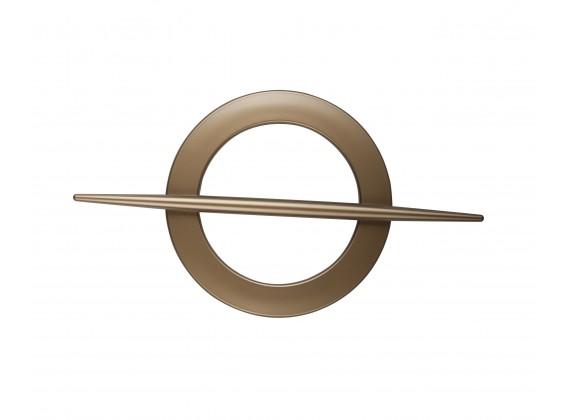 Klamra dekoracyjna koło złoty antyczny