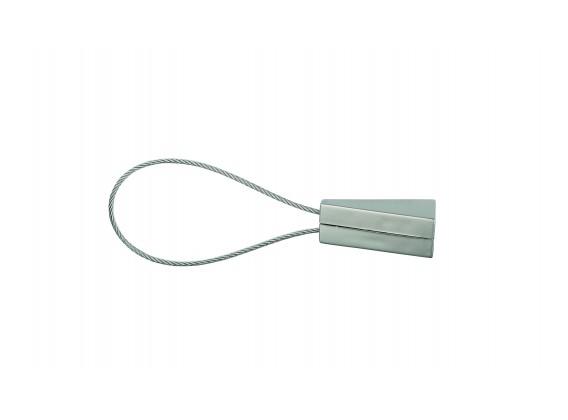 Klips magnetyczny ELIPSA krótki złoty antyczny
