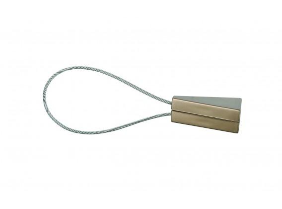 Klips magnetyczny TRIO krótki platyna