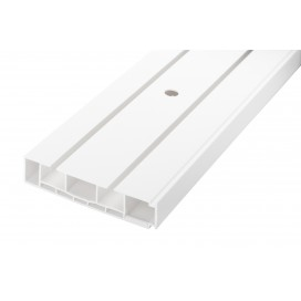 Ceiling-mounted DM curtain rail