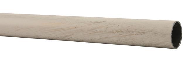 001-00001 Rura metalowa fi16mm bialo- zl