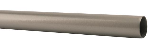 001-00064  Rura metalowa fi16mm srebrna